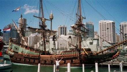 Replica of the Batavia in Australia, via JRC-1138