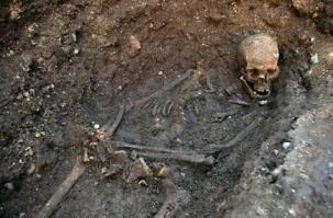 Skeleton of King Richard III (Maybe), via University of Leicester