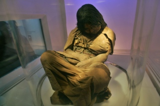 Frozen Sacrificed Incan Child Mummy from Argentina, via National Geographic