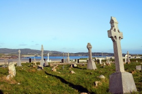 Cemetery on Omey Island, via Bert Kaufmann on Flickr