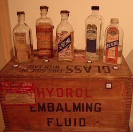 Embalming Chemicals, via Wikimedia