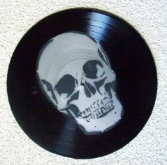 Skull Record (not actually Add Vinylyl cremation record but still cool looking), via Boothy375 on Flickr