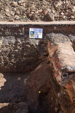 Burial Trench for Richard III, via Chris Tweed on Flickr