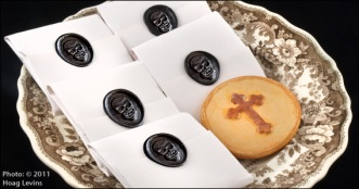 Funeral cookie, via Historic Camden Co