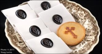 Funeral cookie, via Historic Camden Co