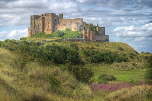Bamburgh Castle, via AlexBrn on Flickr
