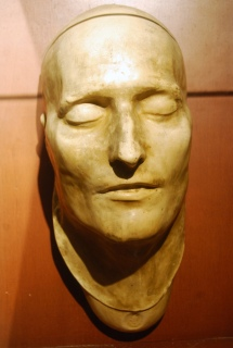 One of Napoleon's Death Mask, via Flickr user Paul Lowry