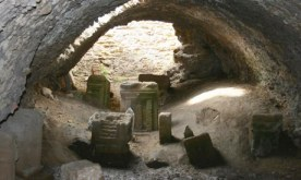 Tophet of Carthage, burial markers pictured, via Guardian