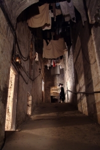 Mary King's Close (with re-enactor)