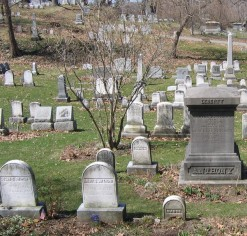 Mt Hope Cemetery near my hometown, the Anthony Plot where Susan B Anthony is buried, via Flickr user Mama Musings