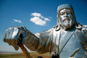 Genghis Khan statue, via Flickr user Francois Phillip