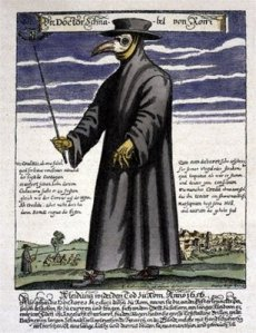 Plague Doctor via Wikimedia Commons