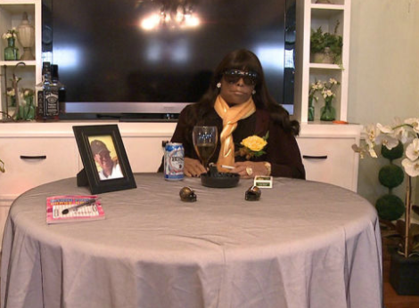 Deceased woman presides over her own funeral, complete with menthol and Busch light, via Jezebel