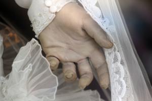 La Pasculita's Life Like Hand, via Atlas Obscura
