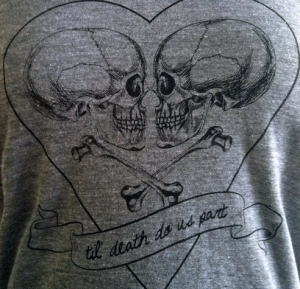Awesome t-shirt by Friendly Oak, perfect for the day after the wedding