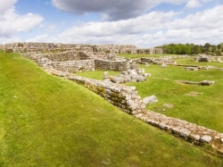 Roman Fort near Hadrian's Wall, via Flickr User Thomas Quine