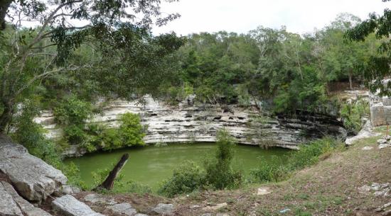 Chichen Itza's Sacred Cenote, taken by Josh Larios on Flickr