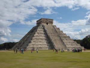 El Castillo at Chichen Itza, taken by Katy Meyers Emery