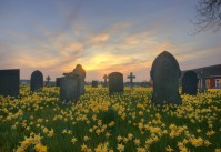 Cemetery landscape, by Flickr user Bs0u10e0