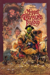 Muppet Treasure Island Video Cover, via Muppets Wiki