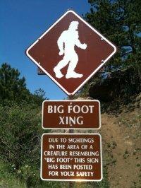 Sign on Pikes Peak Highway, via Wikimedia