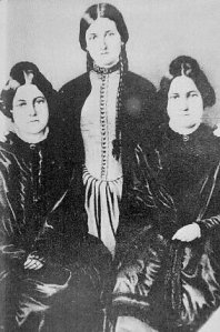 The Fox Sisters, via Wikimedia
