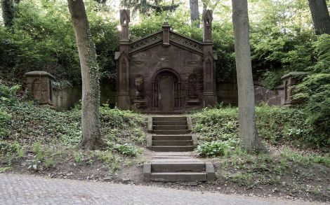 The Mausoleum of Lewis Henry Morgan, via Wikimedia