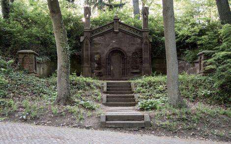 The Mausoleum of Lewis Henry Morgan, via Wikimedia
