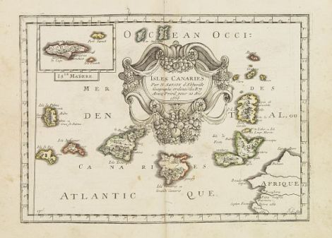 Isles Canaries, via Antique Maps